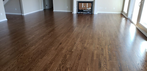 Edmond Oklahoma Red Oak Wood Floor Instal
