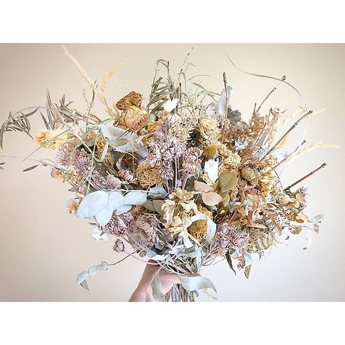 Dried forever bouquet