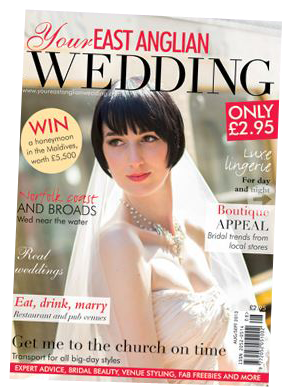 Front cover shot by Sparkes Photography
