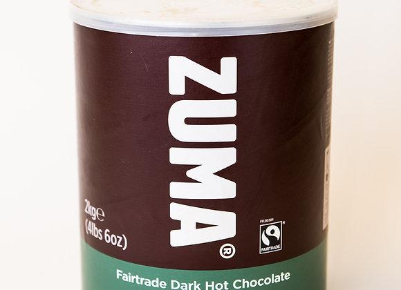 Zuma Fairtrade Dark Hot Chocolate Tin (1 x 2kg)