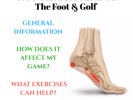 TPI Niagara: The Foot & Golf