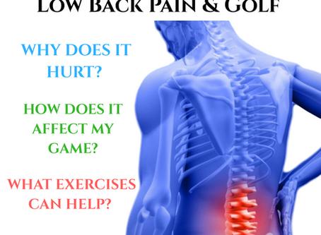 TPI Niagara: Low Back Pain & Golf