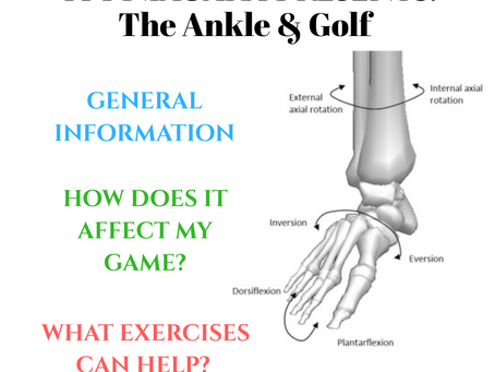 TPI Niagara: The Ankle & Golf