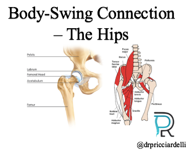 Golf Body-Swing Connection 2/8 - The Hips