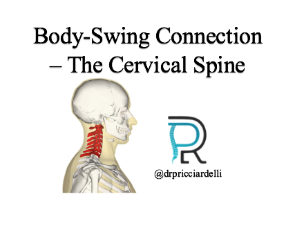 Golf Body-Swing Connection 5/8 - The Cervical Spine