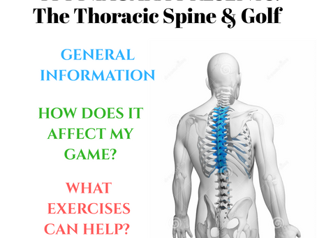 TPI Niagara: The Thoracic Spine & Golf