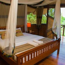 En-suite Guest Room, Queen Elizabeth National Park Camp, Uganda