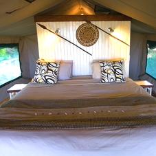 bush camp accomoddation, Okavango Delta, Botswana