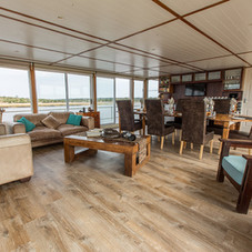 Exclusive Charter House Boat, Seating Area