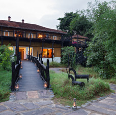 Luxury Safary Lodge used during our photo safaris, Bandhavgarh, India