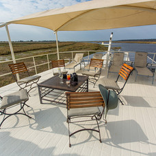 Exclusive Charter House Boat, Top Deck
