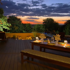luxury Sunset Dining
