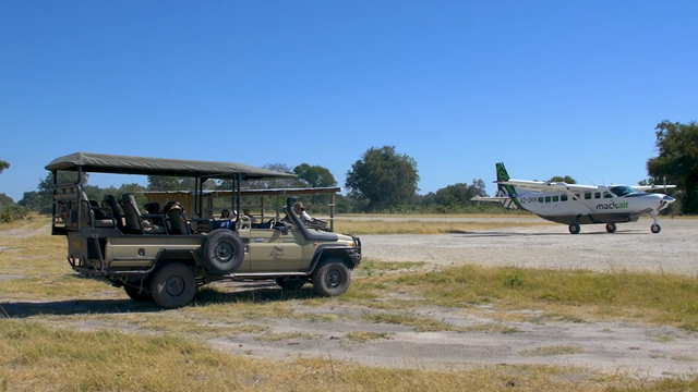 private safari plane