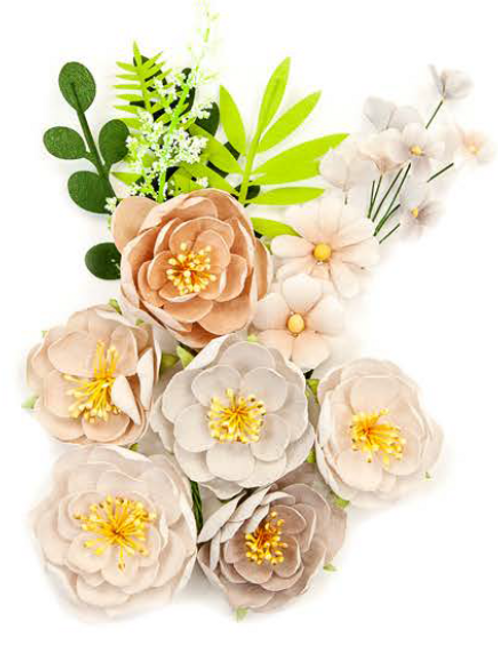Pretty Pale Flowers - Arid Land - Item #637620