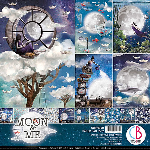 Moon & Me by Ciao Bella - 12 - 12x12 Double-Sided Papers