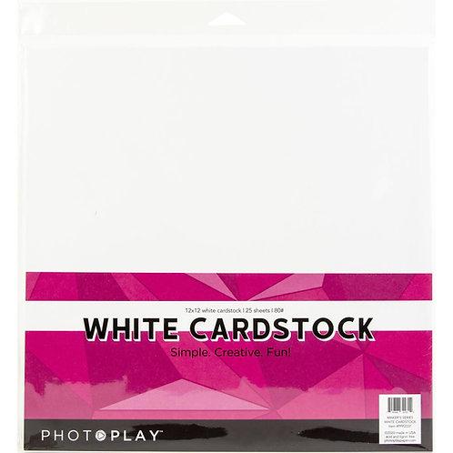"PhotoPlay - Maker Series - 80 lb Cardstock 12""X12"" - 25/Pkg"