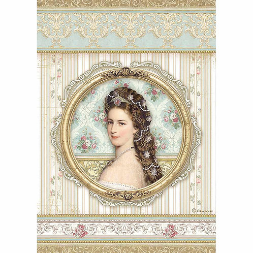 Stamperia - Princess - Rice Paper A4-Item #DFSA4481