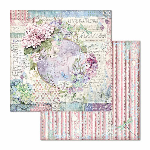 Stamperia-Hortensia - Garland - 2 - 12x12 Single Sheets-Item #SBB696