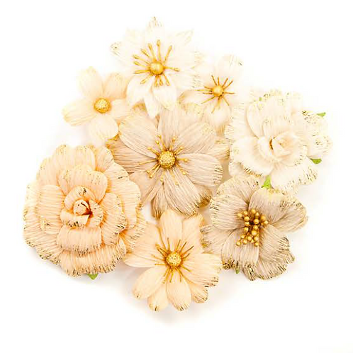 Pretty Pale Flowers - Honeycomb - Item #637576