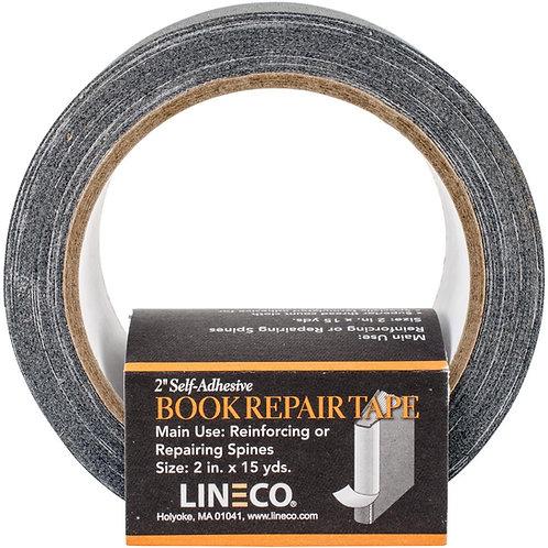 Lineco Self Adhesive Book Repair Tape - Black
