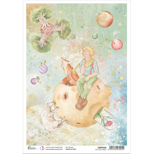 PRE ORDER The Little Prince - A4 Rice Paper by Ciao Bella
