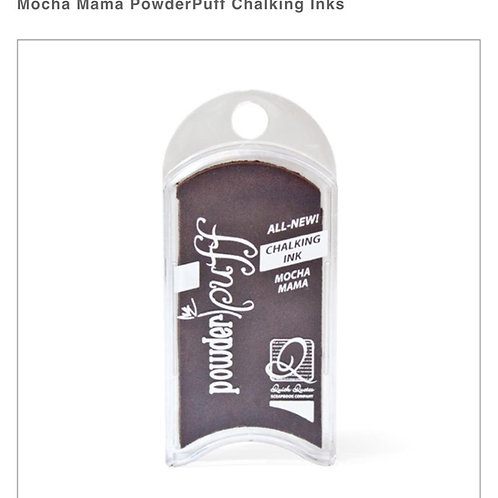 PowderPuff Ink Pad-Mocha Mama