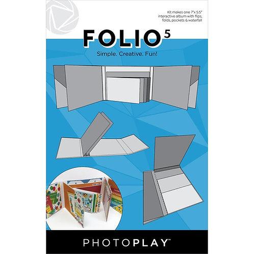 PhotoPlay - Maker Series - Folio 5 - White