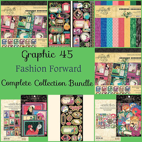 Graphic 45-Fashion Forward-Complete Collection Bundle
