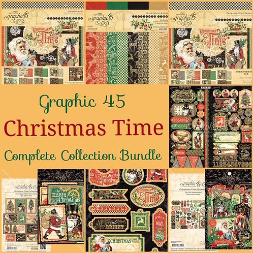 Graphic 45-Christmas Time-Complete Collection Bundle