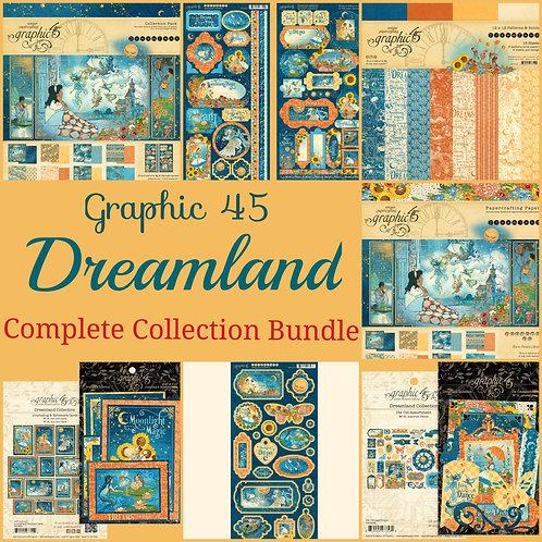 Graphic 45-Dreamland-Complete Collection Bundle