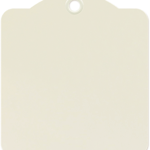 Graphic 45-Square Tags—Ivory-Item #4501282