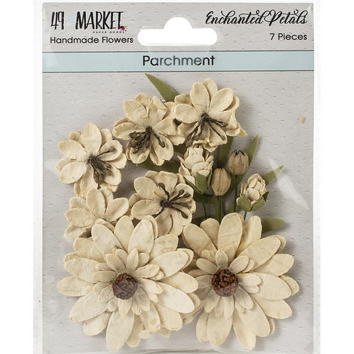 49 and Market-Enchanted Petals-Parchment