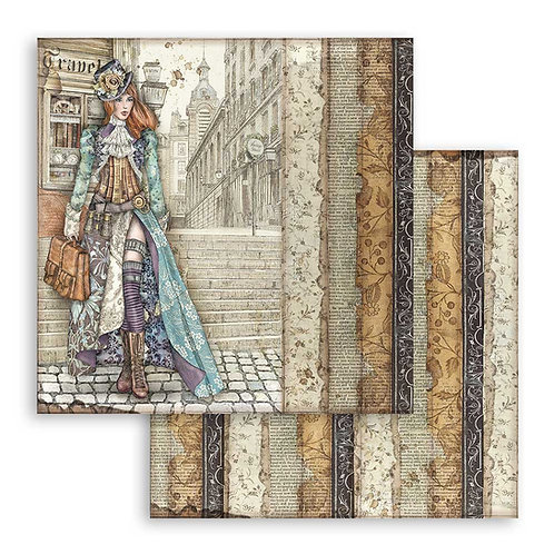 Stamperia-Lady Vagabond - 2 - 12x12 Single Sheets