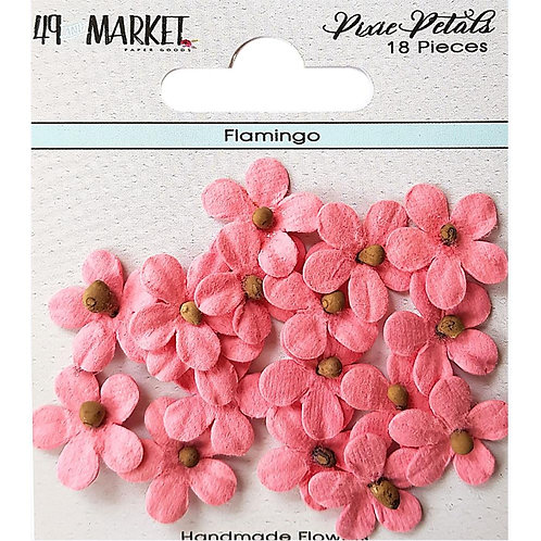 49 and Market-Pixie Petals-Flamingo-Item #PP89166