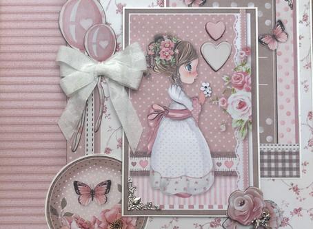 Stamperia Little Girl