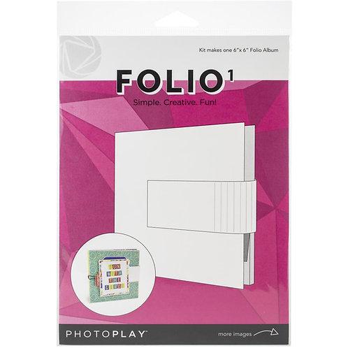 PhotoPlay - Maker Series - 6x6 Folio 1 - White