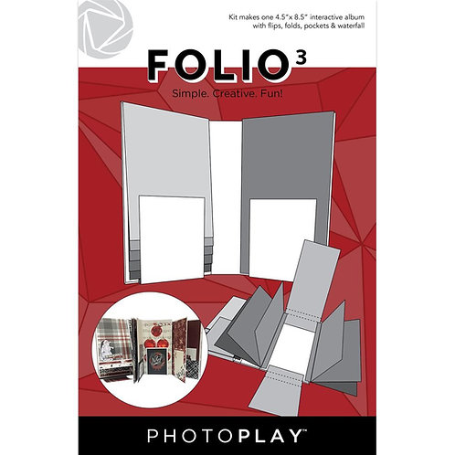 PhotoPlay - Maker Series - Folio 3 - White