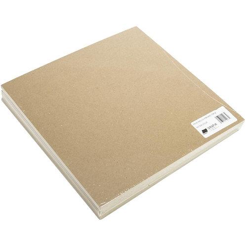 """Grafix Chipboard - Five - 12""""X12"""" Medium Weight Sheets"""
