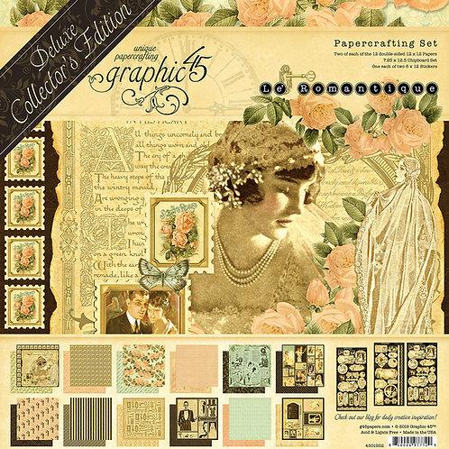 Graphic 45-Le' Romantique-Deluxe Collectors Edition