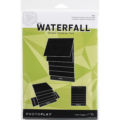 PhotoPlay - Maker Series - 4 x 6 Mechanical Waterfall Kit - Black