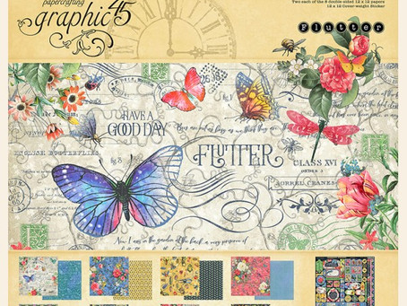 Graphic 45 Flutter - Pre Order Now