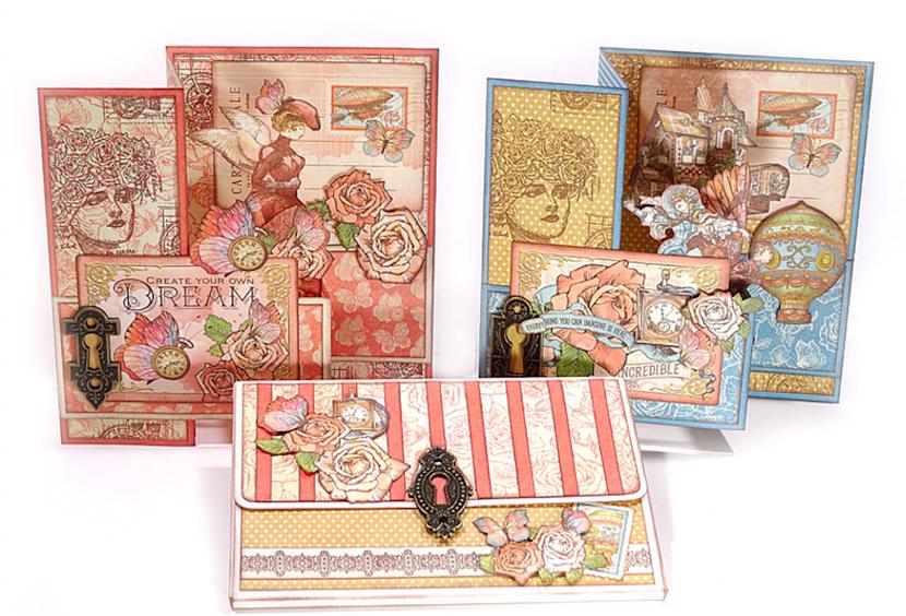 Imagine Wallet Album and 3D Card Kit