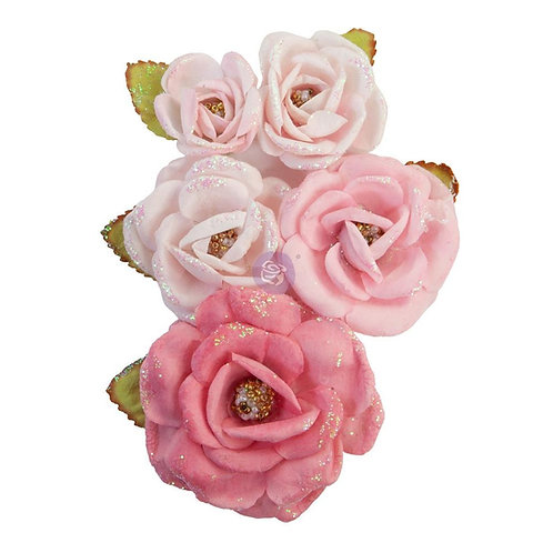 Prima - True Friends/With Love - Mulberry Paper Flowers