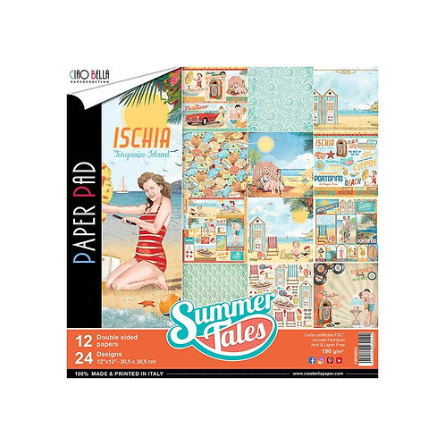 Summer Tales by Ciao Bella-12-12x12 Double-Sided Papers-CBPM022