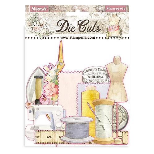 Stamperia - Threads - Die Cuts