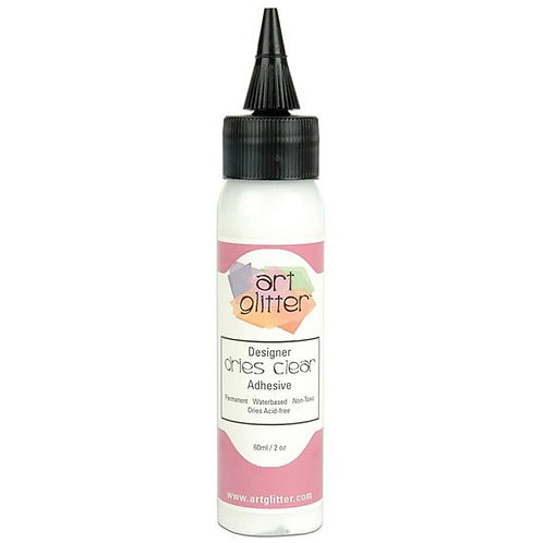 Art Glitter Dries Clear Glue 2 oz.