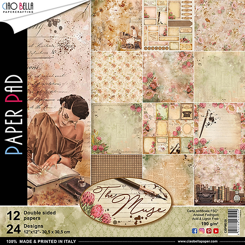 The Muse by Ciao Bella-12-12x12 Double-Sided Papers