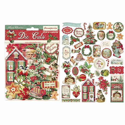 Stamperia-Classic Christmas-Die Cuts
