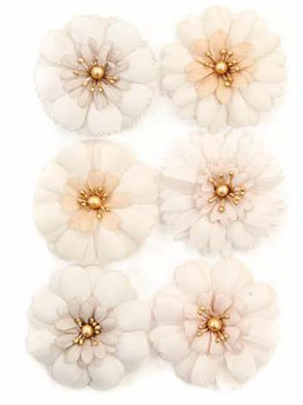 Pretty Pale Flowers - Pale Petals - Items #637569