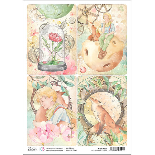PRE ORDER The Little Prince - Cards - A4 Rice Paper by Ciao Bella